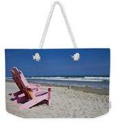 Seas The Chair  Weekender Tote Bag
