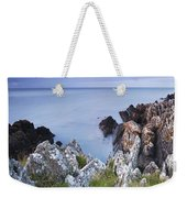 Seascape From Coast Of Clogherhead Weekender Tote Bag
