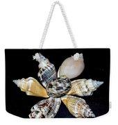 Seashell Floral Weekender Tote Bag