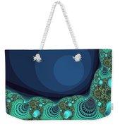 Seashells By The Sea Fractal Weekender Tote Bag
