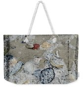 Seashells In The Surf Weekender Tote Bag