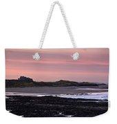 Seashore At Sunset, Northumberland Weekender Tote Bag