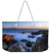 Seaside Rocks Weekender Tote Bag