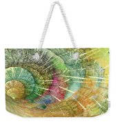 Season Of The Shell Weekender Tote Bag by Betsy Knapp