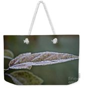 Seasonal Frost Weekender Tote Bag