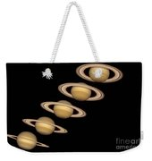Seasons On Saturn Weekender Tote Bag