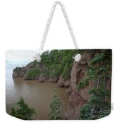 Seastacks At Hopewell Rocks Weekender Tote Bag