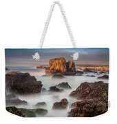 Seastacks In The Mists Weekender Tote Bag