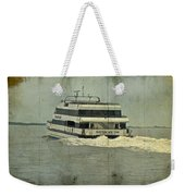 Seastreak Catamaran - Ferry From Atlantic Highlands To Nyc Weekender Tote Bag