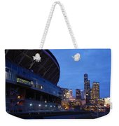 Seattle Sky At Dusk Weekender Tote Bag