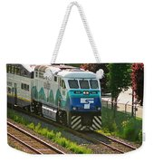 Seattle Sounder Train Weekender Tote Bag