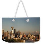 Seattle Sunset Weekender Tote Bag