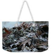 Seaweed And Oak Leaves Weekender Tote Bag