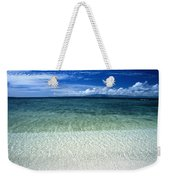 Secluded White Sands Beach Weekender Tote Bag