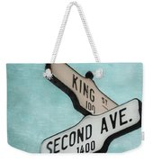 second Avenue 1400 Weekender Tote Bag