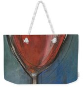 Second Glass Of Red Weekender Tote Bag by Tim Nyberg