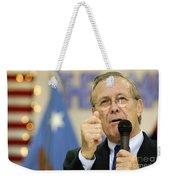 Secretary Of Defense Donald H. Rumsfeld Weekender Tote Bag