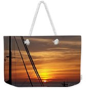 Secure For The Night Weekender Tote Bag