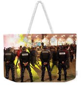 Security And Lights Weekender Tote Bag