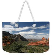 Sedona Arizona Vista Weekender Tote Bag