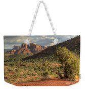 Sedona Red Rock Viewpoint Weekender Tote Bag
