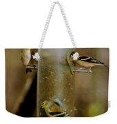 Seed Eating Song Birds Weekender Tote Bag