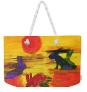 Seeing Rabbits Weekender Tote Bag