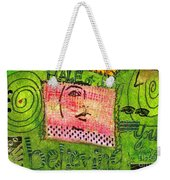 Self-assurance Weekender Tote Bag