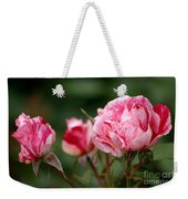 Sentimental Rose Weekender Tote Bag