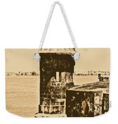 Sentry Tower Castillo San Felipe Del Morro Fortress San Juan Puerto Rico Rustic Weekender Tote Bag by Shawn O'Brien