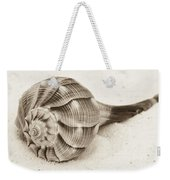 Sepia Shell Weekender Tote Bag