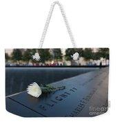 September 11 Memorial Flower Weekender Tote Bag