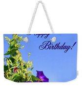 September Birthday Weekender Tote Bag