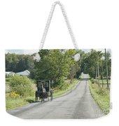 September Roads Weekender Tote Bag