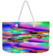 September Sunrise Abstract Weekender Tote Bag