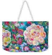 Serendipity Floral Weekender Tote Bag