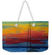 Serene Sunset Weekender Tote Bag