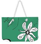 Serenity In Green Weekender Tote Bag
