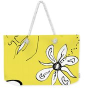 Serenity In Yellow Weekender Tote Bag