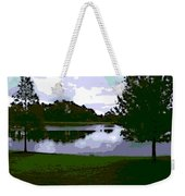 Serenity Lake 4 Weekender Tote Bag
