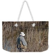Serious Fisherman Weekender Tote Bag