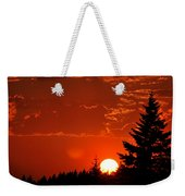 Setting Low Weekender Tote Bag