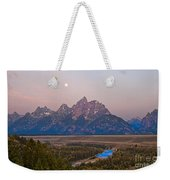 Setting Moon Weekender Tote Bag