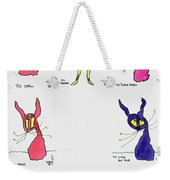 Seven Cartoons Weekender Tote Bag
