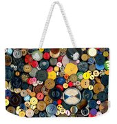 Sewing - Buttons - Bunch Of Buttons Weekender Tote Bag