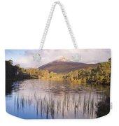 Sgurr Na Lapaich From Loch Salach A Ghiubhais In Glen Affric Weekender Tote Bag