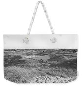 Shackleford Banks Camping Weekender Tote Bag
