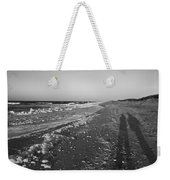Shackleford Beach Morning Weekender Tote Bag