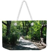 Shaded Paths In Central Park Weekender Tote Bag