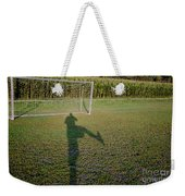 Shadow From A Football Player Weekender Tote Bag